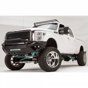 Fab Fours - Fab Fours FS11-V2552-1 Vengeance Front Bumper with Pre-Runner Guard and Sensor Holes for Ford F250/F350 2011-2016 - Image 2
