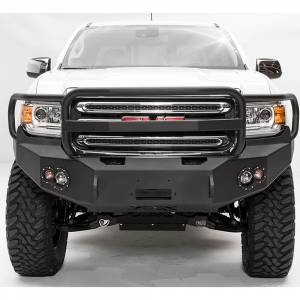 Shop Bumpers By Vehicle - GMC Canyon - Fab Fours - Fab Fours GC15-H3450-1 Winch Front Bumper with Full Guard for GMC Canyon 2015-2019