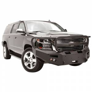 Fab Fours - Fab Fours CS15-F3550-1 Winch Front Bumper with Full Guard and Sensor Holes for Chevy Suburban 2015-2019 - Image 3