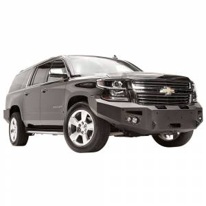 Fab Fours - Fab Fours CS15-F3551-1 Winch Front Bumper with Sensor Holes for Chevy Suburban 2015-2019 - Image 3
