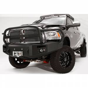 Fab Fours - Fab Fours DR10-A2950-1 Winch Front Bumper with Full Guard for Dodge Ram 2500/3500/4500/5500 2010-2018 - Image 3