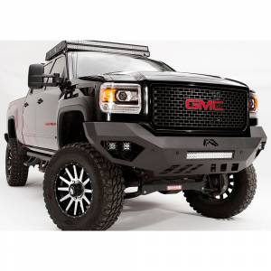 Fab Fours - Fab Fours GM11-V2851-1 Vengeance Front Bumper with Sensor Holes for GMC Sierra 2500/3500 2011-2014 - Image 3