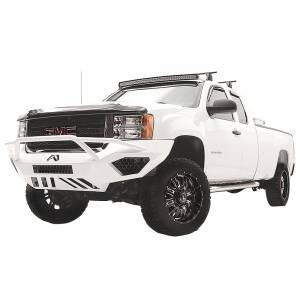 Fab Fours - Fab Fours GM11-V2852-1 Vengeance Front Bumper with Pre-Runner Guard and Sensor Holes for GMC Sierra 2500/3500 2011-2014 - Image 3