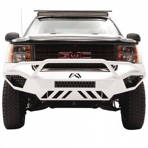 Fab Fours - Fab Fours GM11-V2852-1 Vengeance Front Bumper with Pre-Runner Guard and Sensor Holes for GMC Sierra 2500/3500 2011-2014 - Image 4