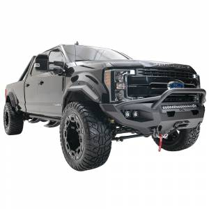 Fab Fours - Fab Fours FS17-X4152-1 Matrix Front Bumper with Pre-Runner Guard for Ford F250/F350 2017-2020 - Image 2