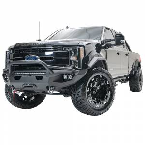 Fab Fours - Fab Fours FS17-X4152-1 Matrix Front Bumper with Pre-Runner Guard for Ford F250/F350 2017-2020 - Image 4