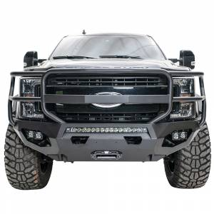Fab Fours - Fab Fours FS17-X4150-1 Matrix Front Bumper with Full Guard for Ford F250/F350 2017-2020 - Image 1