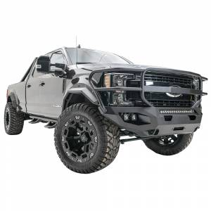 Fab Fours - Fab Fours FS17-X4150-1 Matrix Front Bumper with Full Guard for Ford F250/F350 2017-2020 - Image 2