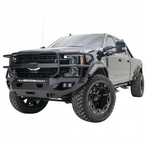 Fab Fours - Fab Fours FS17-X4150-1 Matrix Front Bumper with Full Guard for Ford F250/F350 2017-2020 - Image 3