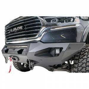 Fab Fours - Fab Fours DR19-X4251-1 Matrix Front Bumper with Sensor Holes for Dodge Ram 1500 2019-2020 - Image 4