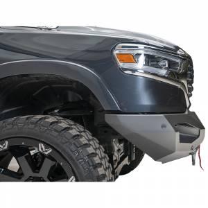 Fab Fours - Fab Fours DR19-X4251-1 Matrix Front Bumper with Sensor Holes for Dodge Ram 1500 2019-2020 - Image 5