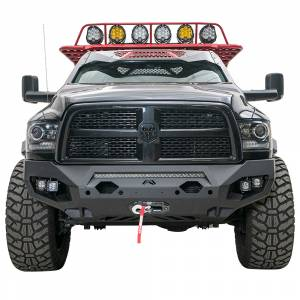 Fab Fours - Fab Fours DR10-X2951-1 Matrix Front Bumper with Sensor Holes for Dodge Ram 2500/3500/4500/5500 2010-2018 - Image 1