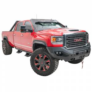 Fab Fours - Fab Fours GM15-X2851-1 Matrix Front Bumper with Sensor Holes for GMC Sierra 2500/3500 2015-2019 - Image 2
