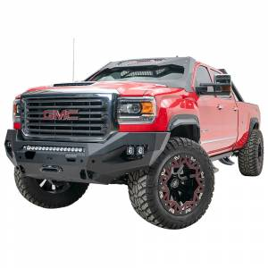 Fab Fours - Fab Fours GM15-X2851-1 Matrix Front Bumper with Sensor Holes for GMC Sierra 2500/3500 2015-2019 - Image 3