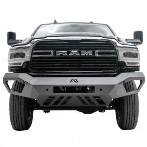 Fab Fours - Fab Fours DR19-V4451-1 Vengeance Front Bumper with Sensor Holes for Dodge Ram 2500/3500 2019-2020 - Image 1