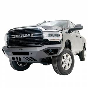 Fab Fours - Fab Fours DR19-V4451-1 Vengeance Front Bumper with Sensor Holes for Dodge Ram 2500/3500 2019-2020 - Image 2