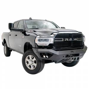 Fab Fours - Fab Fours DR19-V4451-1 Vengeance Front Bumper with Sensor Holes for Dodge Ram 2500/3500 2019-2020 - Image 3
