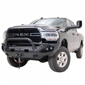 Fab Fours - Fab Fours DR19-X4452-1 Matrix Front Bumper with Pre-Runner Guard and Sensor Holes for Dodge Ram 2500/3500 2019-2020 - Image 2