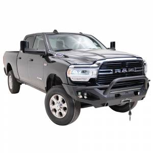 Fab Fours - Fab Fours DR19-X4452-1 Matrix Front Bumper with Pre-Runner Guard and Sensor Holes for Dodge Ram 2500/3500 2019-2020 - Image 3