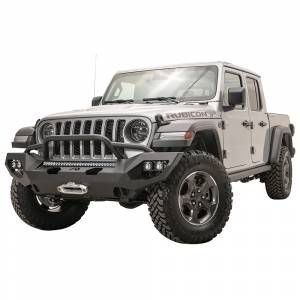 Fab Fours - Fab Fours JL18-X4652-1 Matrix Front Bumper with Pre-Runner Guard for Jeep Wrangler JL 2018-2020 - Image 2