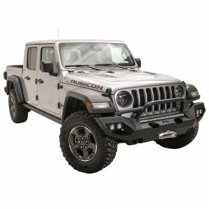 Fab Fours - Fab Fours JL18-X4652-1 Matrix Front Bumper with Pre-Runner Guard for Jeep Gladiator JT 2020-2021 - Image 3