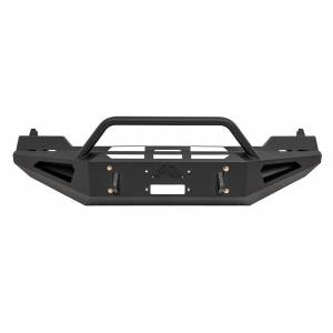 Fab Fours - Fab Fours DR13-RS2462-1 Red Steel Front Bumper with Pre-Runner Guard for Dodge Ram 1500 2013-2016