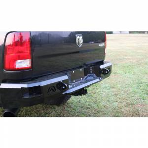 Fab Fours - Fab Fours DR09-W2950-1 Premium Rear Bumper for Dodge Ram 1500 2009-2018 - Image 2