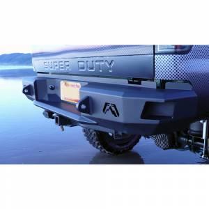 Fab Fours - Fab Fours FS08-W1350-1 Premium Rear Bumper for Ford Super Duty 1999-2016 - Image 4