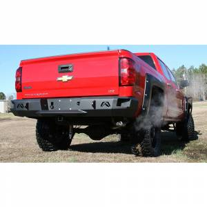 Fab Fours - Fab Fours CS14-W3150-1 Premium Rear Bumper for GMC Sierra 1500 2014-2018 - Image 3