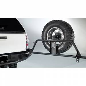 Exterior Accessories - Tire Carrier and Components - Fab Fours - Fab Fours TT-Y1351T-1 Tire Carrier for Toyota Tacoma 2005-2015
