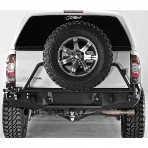 Fab Fours - Fab Fours TT-Y1351T-1 Premium Rear Bumper with Tire Carrier for Toyota Tacoma 2005-2015 - Image 2