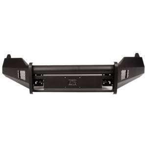 Fab Fours - Fab Fours DR13-R2962-1 Black Steel Elite Smooth Front Bumper with Pre-Runner Guard for Dodge Ram 1500 2013-2018 - Image 3