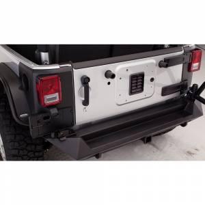 Fab Fours - Fab Fours JK07-Y1251-1 Premium Rear Bumper for Jeep Wrangler JK 2007-2018 - Image 2