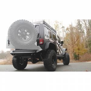 Fab Fours - Fab Fours JK07-Y1251-1 Premium Rear Bumper for Jeep Wrangler JK 2007-2018 - Image 3