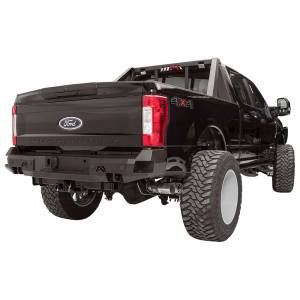 Fab Fours - Fab Fours FS08-W1351-1 Premium Rear Bumper with Sensor Holes for Ford Super Duty 1999-2016 - Image 3