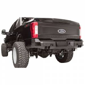 Fab Fours - Fab Fours FS08-W1351-1 Premium Rear Bumper with Sensor Holes for Ford Super Duty 1999-2016 - Image 4
