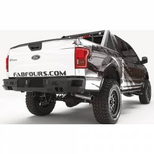 Fab Fours - Fab Fours FF15-W3251-1 Premium Rear Bumper with Sensor Holes for Ford F150 2015-2020 - Image 2