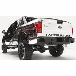 Fab Fours - Fab Fours FF15-W3251-1 Premium Rear Bumper with Sensor Holes for Ford F150 2015-2020 - Image 3