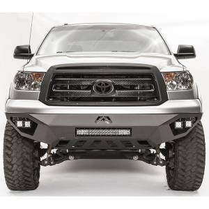 Fab Fours - Fab Fours TT07-D4451-1 Vengeance Front Bumper for Toyota Tundra 2007-2013