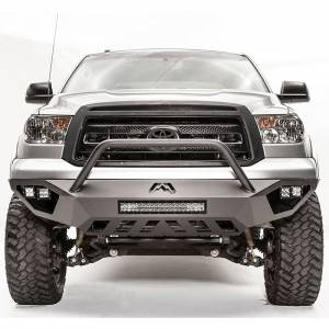Fab Fours - Fab Fours TT07-D4452-1 Vengeance Front Bumper with Pre-Runner Guard for Toyota Tundra 2007-2013