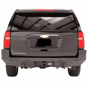 Fab Fours - Fab Fours CS15-W3551-1 Premium Rear Bumper with Sensor Holes for Chevy Suburban 2015-2019 - Image 2