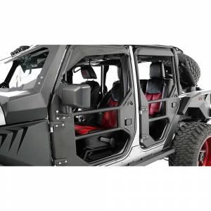Fab Fours - Fab Fours JK1030-1 Front Tube Door for Jeep Wrangler JK 2007-2018 - Image 3