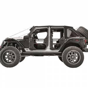 Fab Fours - Fab Fours JK1030-1 Front Tube Door for Jeep Wrangler JK 2007-2018 - Image 4