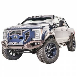 Fab Fours - Fab Fours GR4100-1 Grumper Front Bumper for Ford F350/F450/F550 2017-2019 - Image 2
