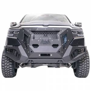 Jeep Bumpers - Fab Fours - Fab Fours - Fab Fours GR4200-1 Grumper Front Bumper for Dodge Ram 1500 2019-2020 New Body Style