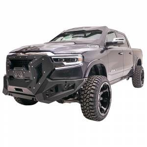 Fab Fours - Fab Fours GR4200-1 Grumper Front Bumper for Dodge Ram 1500 2019-2020 New Body Style - Image 2