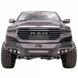 Fab Fours - Fab Fours DR19-D4251-1 Vengeance Front Bumper with Sensor Holes for Dodge Ram 1500 2019-2020 - Image 1