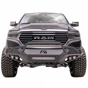 Fab Fours - Fab Fours DR19-D4252-1 Vengeance Front Bumper with Pre-Runner Guard and Sensor Holes for Dodge Ram 1500 2019-2020 - Image 1