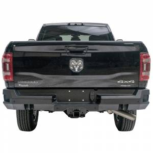 Fab Fours - Fab Fours DR19-W4451-1 Premium Rear Bumper with Sensor Holes for Dodge Ram 2500 HD/3500 HD 2019-2020 New Body Style - Image 1