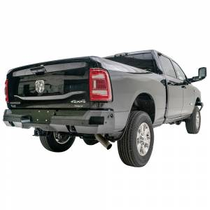 Fab Fours - Fab Fours DR19-W4451-1 Premium Rear Bumper with Sensor Holes for Dodge Ram 2500 HD/3500 HD 2019-2020 New Body Style - Image 2